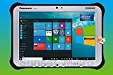 Panasonic Toughpad FZ-G1 MK1, Intel i5-3437U @1.9GHz, 10.1' WUXGA Multi Touch+Digitizer, 128GB SSD, 4GB, Wifi, Bluetooth, Windows 10 Pro (Renewed)