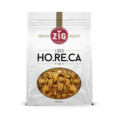 ZIG Zenzero disidratato senza conservanti 100% naturale con fruttosio 1 Kg - Ginger 100% natural no preservatives with fructose 1 Kg