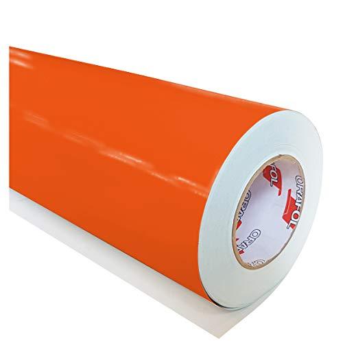 hauptsachebeklebt Oracal 621 034 - Lámina adhesiva (5 m x 63 cm), color naranja