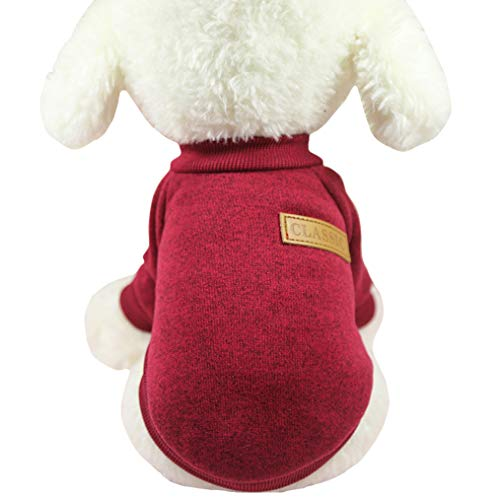Fashion Focus On Pet Dog Clothes Knitwear Dog Sweater for Pugs