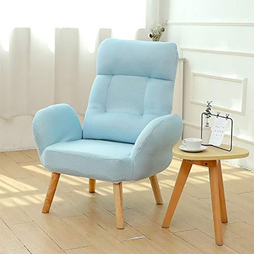 Glider Baby Nursing Chair & Fußschemel, Stillstuhl Mutterschaft Stuhl Mit Hoher Rückenlehne Und Armlehne, Leinen-Baumwollbezug, 5 Gänge Höhenverstellbar