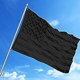 Anpadium Black American Flags 3x5 FT,...