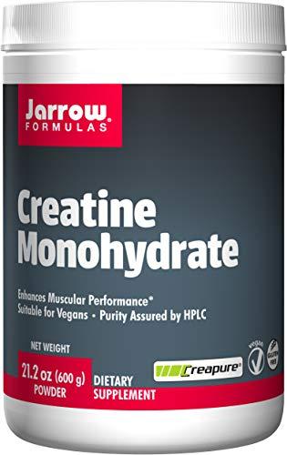 Jarrow Formulas Creatine Monohydrate Powder Promotes Muscular Performance, 21.2 Ounce