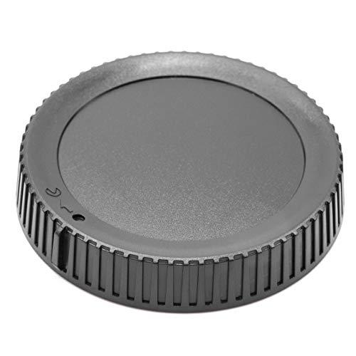 vhbw copriobiettivo posteriore compatibile con Nikon Nikkor Z 24-70mm f/4 S, Z 35mm f/1.8 S, Z 50mm f/1.8 S fotocamera - plastica, nero