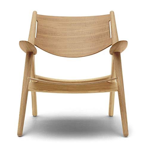 Carl Hansen CH28T stoel, geolied eiken/natuur