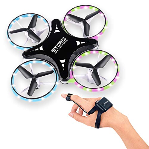 Mini Drone, Gesture Control UFO Remote Control, Foldable Quadcopter, Gravity Sensing Aircraft Toy for Kids 3D Flips 3 Models for Beginner