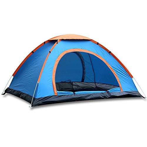 GYAM Tienda de Doble campaña, Mosquito a Prueba de Mochila Gruesa Tienda de Carpa con toldo Impermeable para Llevar, para Actividades al Aire Libre, como Camping y Senderismo,Azul