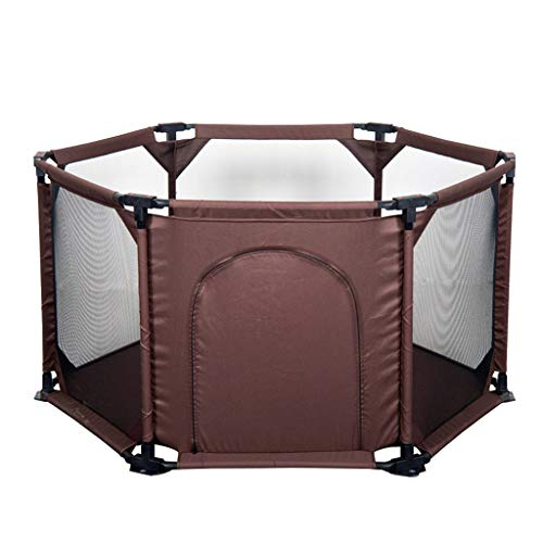 Great Deal! Baby Fence Portable Game Panel Fence Safety Activity Center Home Indoor and Outdoor Baby...