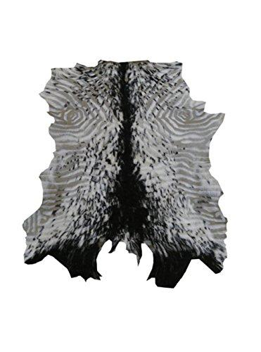 Zerimar Alfombra Piel de Cabra Natural Premium   Medidas: 80x70 cms   Alfombra Salón   Alfombra Salón Grandes   Alfombras de Pelo