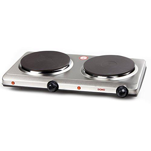 Domo DO311KP 2 Pits Elektrische Kookplaat 1500W