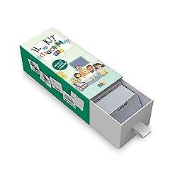 Il kit dei pittogrammi è uno strumento pratico per sviluppare e facilitare la comunicazione. Una raccolta di pittogrammi in formato tessera (7x7 cm) e in lettere maiuscole: utilizzabile sia a scuola che in casa. Contenuto: 402 immagini 16 categorie d...