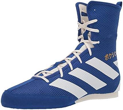 adidas - Zapatillas de boxeo unisex para adultos Hog 3, azul, 11