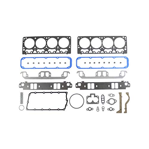 DNJ HGS1142 Graphite Head Gasket Set/For 1992-1997/ Dodge, Jeep/ B1500, B2500, B3500, D150, D250, Dakota, Grand Cherokee, Grand Wagoneer, Ramcharger, W250/ 5.2L/ OHV/ V8/ 16V/ 318cid