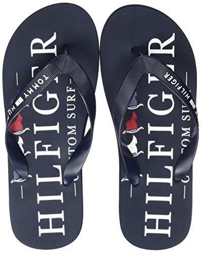 Tommy Hilfiger Nautical Print Beach Sandal