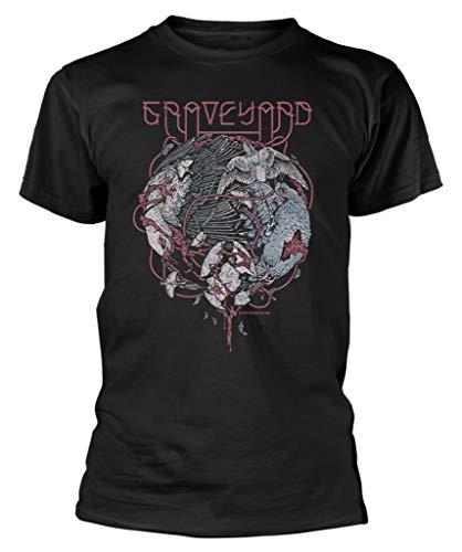 Graveyard 'Birds' (Black) T-Shirt (medium)