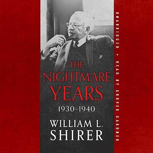 The Nightmare Years, 1930-1940  By  cover art