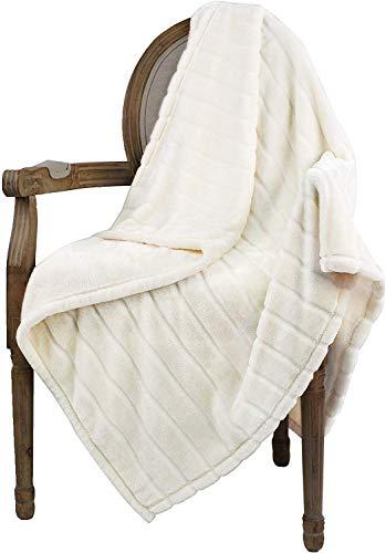 Bertte Throw Blanket Super Soft Cozy Warm Blanket 330 GSM Lightweight Luxury Fleece Blanket for Bed...