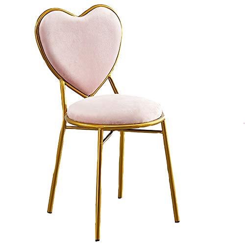 Brandless Home Stühle für Schlafzimmer, Stühle und Hocker, Outdoor-Stühle, Make-up-Stühle, Haushaltsstühle, erhältlich in zwei Farben, Metallmaterial