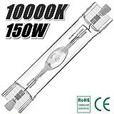 アクアリウム メタルハライドランプ 150W 7000K-20000K 両口金RX7s-24 (10000K)
