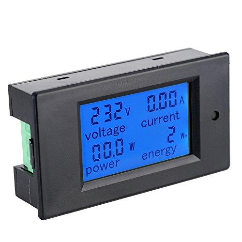 KKmoon AC80-260V 100A DigitalLcdCorriente Voltaje Activo Poder Energía DetecciónEnsayadorAmperímetro Voltímetro MultifuncionalMetro conInductor