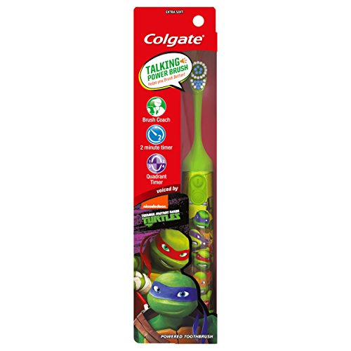 Colgate Kids Interactive Talking Toothbrush, Teenage Mutant Ninja Turtles