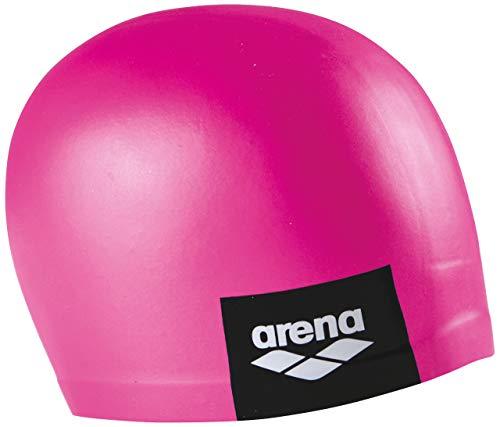 Arena Logo Moulded, Cuffia Unisex Adulto, Rosa (Pink), Taglia Unica