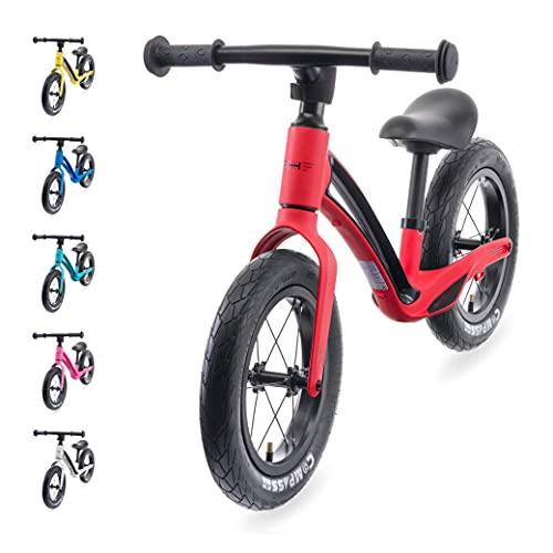 Hornit AIRO   Super Lightweight Magnesium Alloy Balance Bike   Ages 18 months to 5 Years   Magma Red