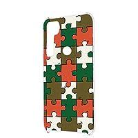 FFANY Galaxy A21 (SC-42A) 用 ハードケース スマホケース パズル柄・ベーシック おもしろ ゲーム パロディ SAMSUNG サムスン ギャラクシー エートゥエンティワン docomo スマホカバー 携帯ケース 携帯カバー puzzle_aao_h190732