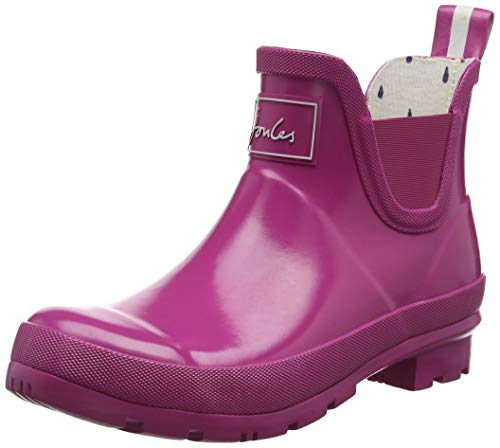 Tom Joule Joules Damen Wellibob Gloss Gummistiefel, Pink (Pink Pink), 38 EU
