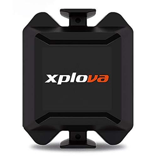 XPLOVA ZC.x01tx.00E, ciclocomputador Unisex–Adulto, Negro, Talla única