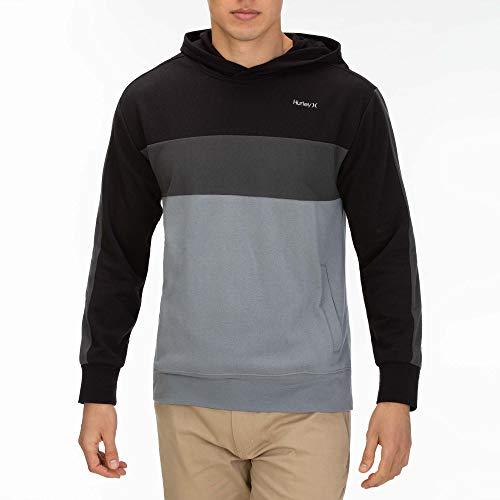 Ofrece calidez y comodidad Logotipo de Hurley bordado en el pecho Se recomienda lavar a máquina Tiene bolsillos laterales