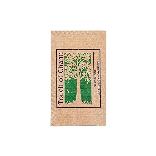 Garcia de Pou 500 eenheid feel groen krachtpakket voor tandpasta, papier, natuur, 27,5 x 21,5 x 8 cm