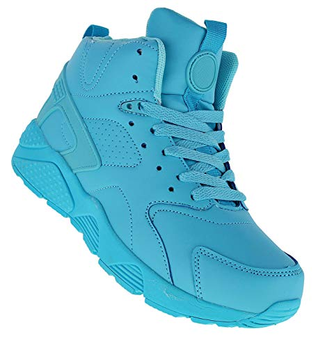 Bootsland 518 Basketballschuhe Sneaker Skater Damen, Schuhgröße:40