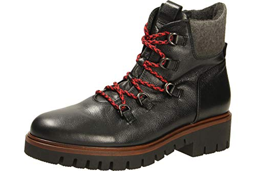 Gabor Shoes Comfort Sport, Stivaletti Donna, Nero (SCHW/Grau(SS/Core/Mel) 67), 37.5 EU