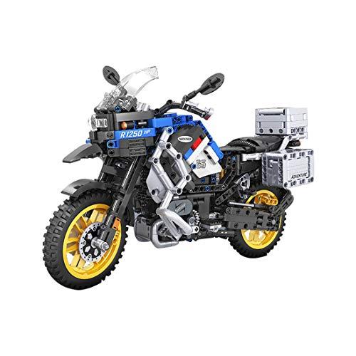 PARIO 948 piezas Custom Motorcycle Set Moto MOC Juego de construcción de moto de carreras para minifiguras de juguete de construcción compatible con Lego