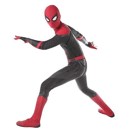 CYwinterB Spider-Man Far from Home Disfraz de Cosplay Mono de superhroe Body para Adultos Nios Halloween Carnaval Fiesta de Cosplay Disfraces Mascarada Medias de cumpleaos Zentai Lycra Suit