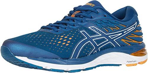 ASICS Men's Gel-Cumulus 21 Running Shoes, 12, MAKO Blue/White