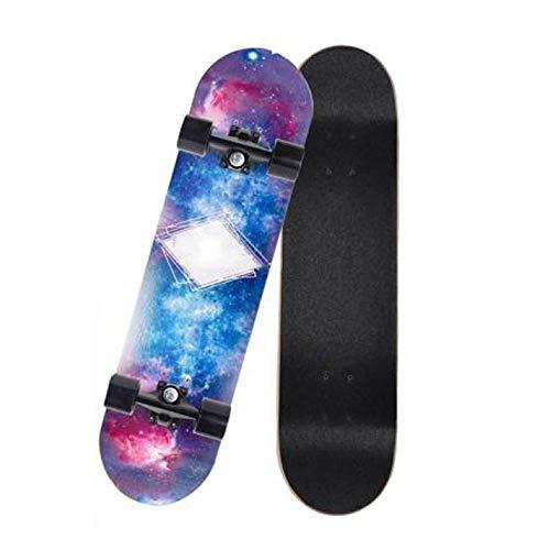 LSF Skateboard, Roller, Sandboard Anfänger Mädchen Jungen und Mädchen Jugendliche Kinder Skateboards, Profi-Straße Skateboard (Color : 2)