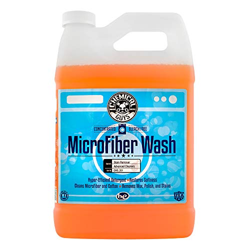 Chemical Guys CWS_201 Microfiber Wash Cleaning Detergent Concentrate, 1 Gal