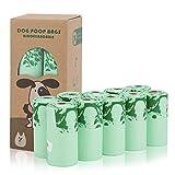 Bolsas para Excrementos de Perro 100% Biodegradable Bolsas Ecológicas para Residuos de Perros Bolsas para Caca de Perro más Grueso Que Otros Hecho de Almidón de Maíz