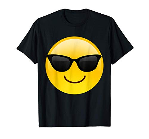 Emoji Cool Shades Smiley-Sonnenbrille Confident Awesome T-Shirt