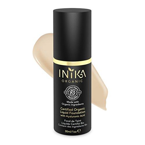 INIKA Certified Organic Liquid Foundation, Nude