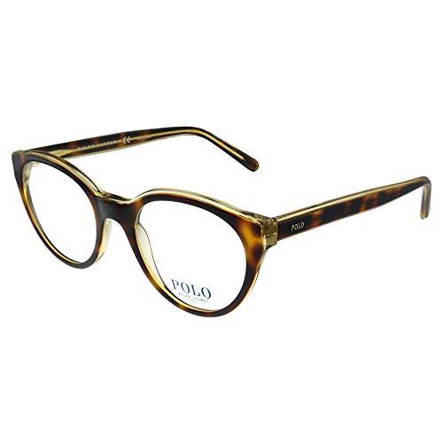 Ralph Lauren Women's 0PH2174 Eyeglass Frames, Brown (Havana on Pinot...