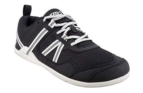 Xero Shoes Men's Prio Cross Training Shoe - Lightweight Zero Drop, Barefoot,Black/White,11