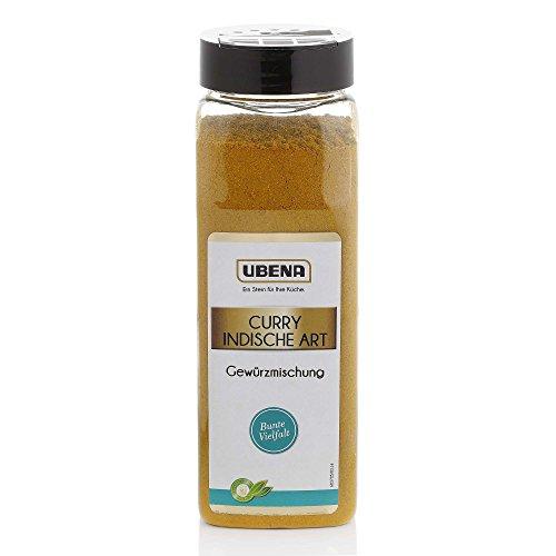Ubena Curry Indische Art 500 g Currypulver Indisches Gewürz, Curry-Gewürzmischung zum Kochen, für Reis, Hühnchen, Nudeln, Wok-Gemüse, Menge: 1 Stück