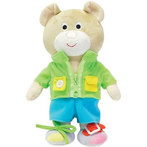 Mauvmr ideal klä upp björnknappen Terrow leksaker, grundläggande livskällor utbildning leksaker