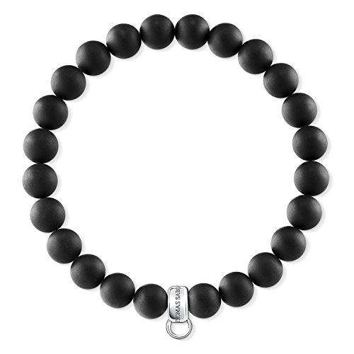 Thomas Sabo Damen-Armreifen Künstliche Perle X0219-023-11-L15,5