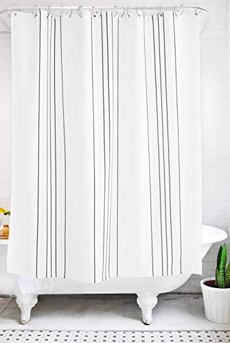 Modern Striped Shower Curtain