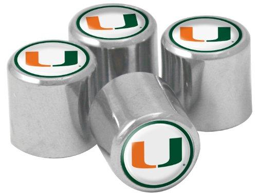 NCAA Miami Hurricanes Metal Tire Va…