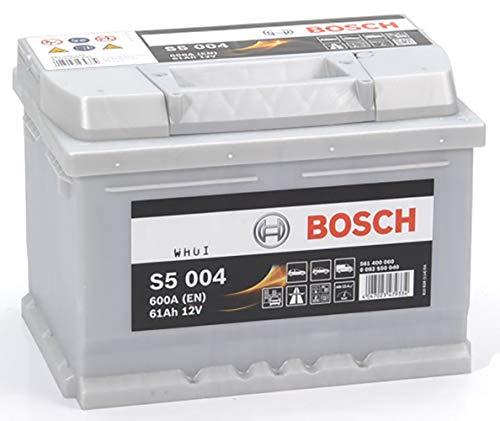 Bosch S5004 Batería de automóvil 61A/h-600A